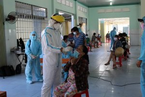 Tây Ninh xét nghiệm SARS-COV-02  trên phạm vi toàn tỉnh: Tách F0 ra khỏi cộng đồng để tạo vùng xanh