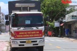 Tây Ninh: Tiếp nhận hơn 336 tấn gạo hỗ trợ cho người dân gặp khó khăn do dịch bệnh Covid-19