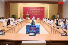 Hội nghị góp ý kiến vào dự thảo báo cáo tổng kết NQ 19 khóa XI