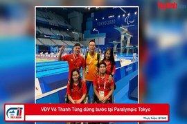 VĐV Võ Thanh Tùng dừng bước tại Paralympic Tokyo
