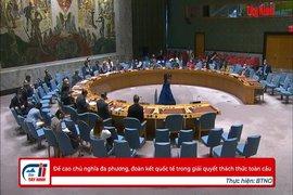 Đề cao chủ nghĩa đa phương, đoàn kết quốc tế trong giải quyết thách thức toàn cầu