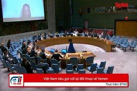 Việt Nam kêu gọi nối lại đối thoại về Yemen