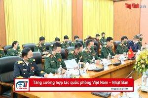 Tăng cường hợp tác quốc phòng Việt Nam–Nhật Bản