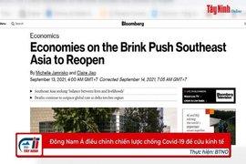 Đông Nam Á điều chỉnh chiến lược chống Covid-19 để cứu kinh tế