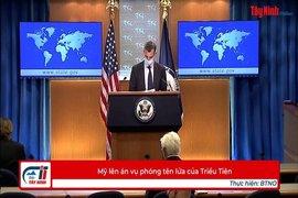 Mỹ lên án vụ phóng tên lửa của Triều Tiên