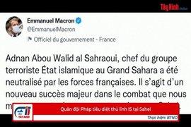 Quân đội Pháp tiêu diệt thủ lĩnh IS tại Sahel