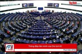 Thông điệp liên minh của Chủ tịch EC