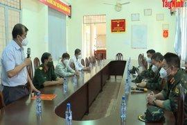 Tổng Cục Hậu cần - Bộ Quốc Phòng hỗ trợ Tây Ninh 3 xe xét nghiệm lưu động PCR sàng lọc F0 trong cộng đồng