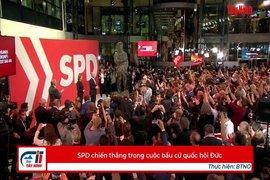 SPD chiến thắng trong cuộc bầu cử quốc hội Đức