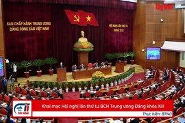 Khai mạc Hội nghị lần thứ tư BCH Trung ương Đảng khóa XIII