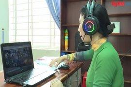 Tây Ninh tiếp tục dạy học theo hình thức trực tuyến