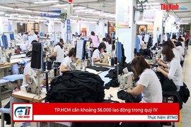 TP.HCM cần khoảng 56.000 lao động trong quý IV