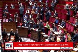Pháp cảnh báo xem xét lại thỏa thuận song phương với Anh