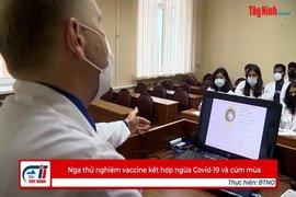 Nga thử nghiệm vaccine kết hợp ngừa Covid-19 và cúm mùa