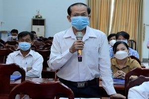 Đoàn ĐBQH đơn vị tỉnh Tây Ninh tiếp xúc cử tri huyện Châu Thành