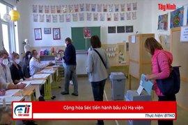 Cộng hòa Séc tiến hành bầu cử Hạ viện