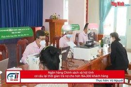 Ngân hàng Chính sách xã hội tỉnh cơ cấu lại thời gian trả nợ cho hơn 164.300 khách hàng