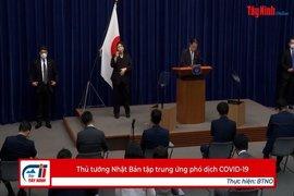 Thủ tướng Nhật Bản tập trung ứng phó dịch COVID-19