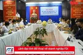 Lãnh đạo tỉnh đối thoại với doanh nghiệp FDI