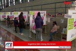 Argentina tiêm chủng cho trẻ em