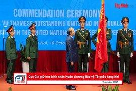Cục Gìn giữ hòa bình nhận Huân chương Bảo vệ Tổ quốc hạng Nhì