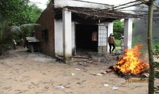 Tân Biên: Cha tự thiêu, đốt luôn cả 3 con