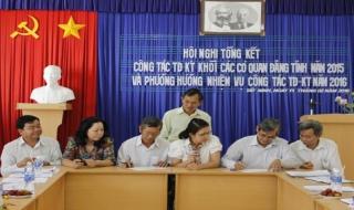 Đảng ủy Khối các cơ quan tỉnh qua 5 năm thực hiện Chỉ thị 03 của Bộ Chính trị