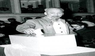 Hồ Chủ tịch với cuộc bầu cử Quốc hội đầu tiên