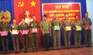"""Tân Biên: Sơ kết 3 năm thực hiện phong trào """"CAND học tập, thực hiện 6 điều Bác Hồ dạy"""""""