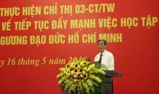 Tiếp tục đẩy mạnh học tập, làm theo tư tưởng, đạo đức, phong cách Hồ Chí Minh