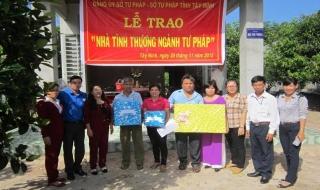 Đảng bộ Sở Tư pháp Tây Ninh thực hành tiết kiệm, chống lãng phí