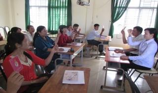 Chi bộ Trường tiểu học Bàu Đồn luôn giữ vững trong sạch vững mạnh