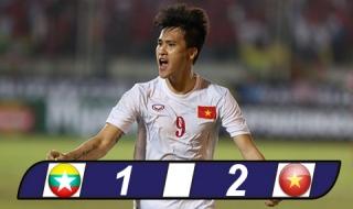 Công Vinh ghi bàn thứ 50, Việt Nam thắng trận ra quân ở AFF Suzuki Cup 2016