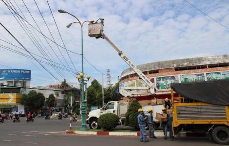 Tây Ninh: Thay thế trên 3.000 đèn chiếu sáng đô thị bằng đèn led