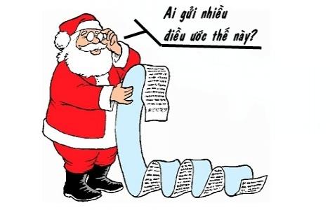 Cách con gái xin quà Noel