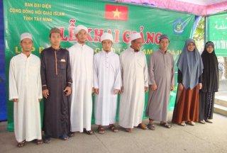 Khai giảng lớp bồi dưỡng Giáo lý Islam khóa III năm 2017
