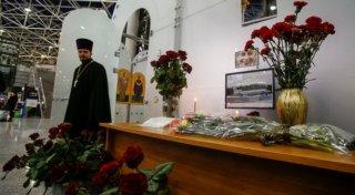 Nga quốc tang nạn nhân máy bay rơi