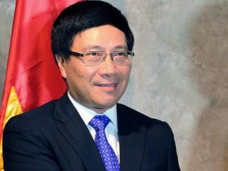Phó Thủ tướng Phạm Bình Minh thăm và làm việc tại Lào