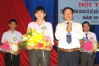 Liên đoàn Lao động tỉnh tổ chức hội thi Chủ tịch công đoàn cơ sở giỏi trong doanh nghiệp