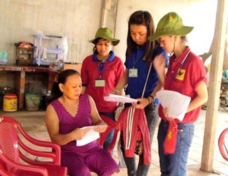 Kiểm tra công tác xây dựng nông thôn mới tại các huyện
