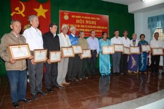 Hội Người tù kháng chiến Tây Ninh tổng kết công tác năm 2016