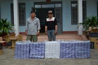 Tây Ninh: Bắt giữ 2 đối tượng buôn lậu hơn 7.600 gói thuốc lá