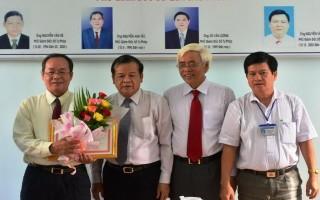 Trao quyết định nghỉ hưu cho Giám đốc Sở Tư pháp Tây Ninh