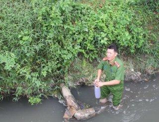 Một công ty bị phạt gần 300 triệu đồng do nhiều lần xả thải ra đầu nguồn hồ Dầu Tiếng