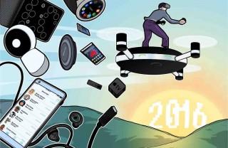 Những mảng màu sáng tối trên bức tranh công nghệ 2016
