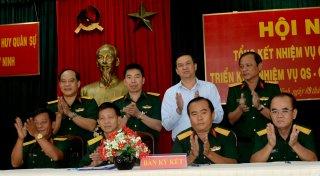 Bộ CHQS tỉnh: Phát động phong trào thi đua quyết thắng năm 2017