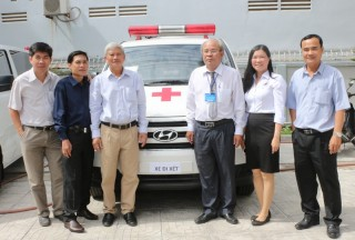 Tây Ninh: Trang bị 6 xe cứu thương cho các cơ sở y tế trong tỉnh