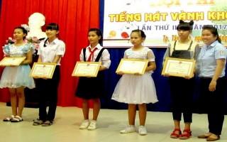"""Thành phố Tây Ninh tổ chức hội thi """"Tiếng hát Vành khuyên"""""""