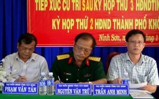 Bí thư Tỉnh uỷ, Chủ tịch UBND tỉnh tiếp xúc cử tri thành phố Tây Ninh