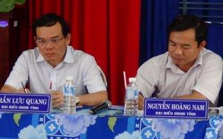 Bí thư Tỉnh ủy Trần Lưu Quang tiếp xúc cử tri phường III